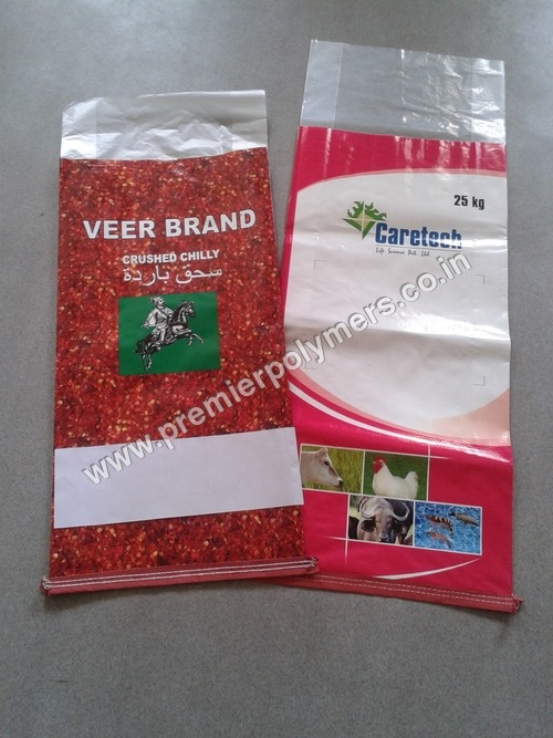 Poultry Feed Packaging BOPP Bags
