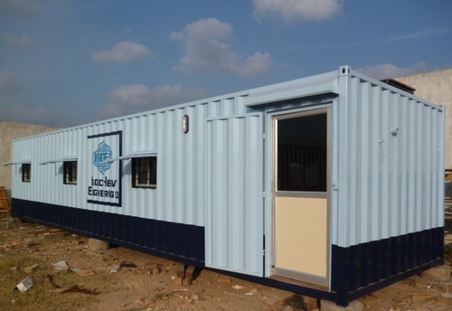 Fabricated Portable Office Cabin