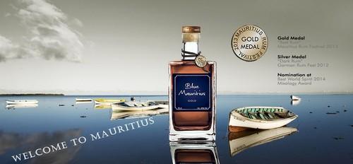 Blue gold rum