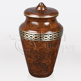 Imperial Brass Metal Cremation Urn