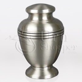 Mercury Brass Metal Cremation Urn