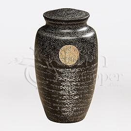 Mondschein Eggshell Brass Cremation Urn