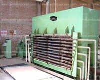 Plywood – Blockboard Hydraulic press Machine