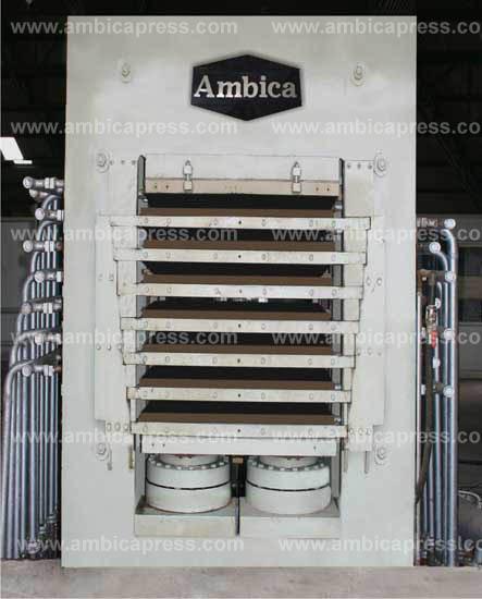 Particle Board Press Machine