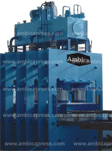 Pre Lamination Hydraulic Press
