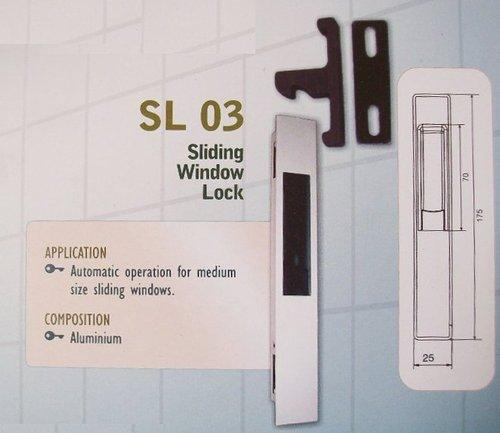 Aluminium Sliding Lock