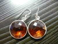 Honey Quartz Earrings