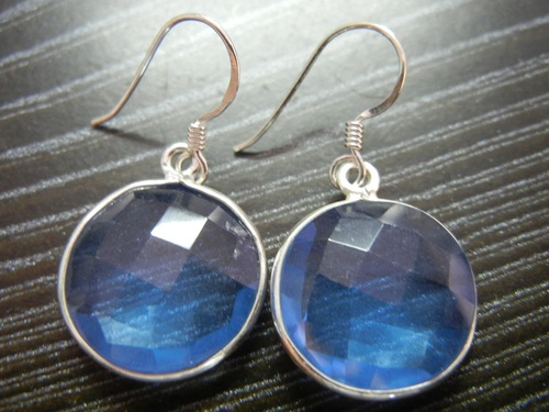 Gemstone Sterling Silver Earrings