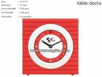 Clock Table Moto GP