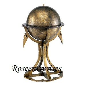 Nautical Globe With Stand