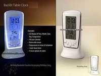LCD Clock Backlite