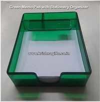 Memo Pad Green