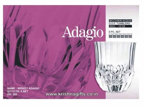 Soga Glass Set 6pc Adagio Whiskey