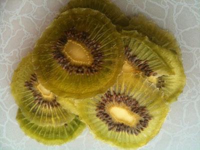 Dehydrated Kiwi Fruits Slice