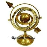 Brass Armillary with Stand