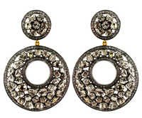 Diamond Gold Earrings Jewelry