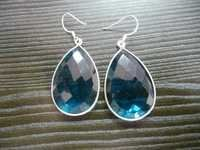 Pear Drop Gemstone Earrings