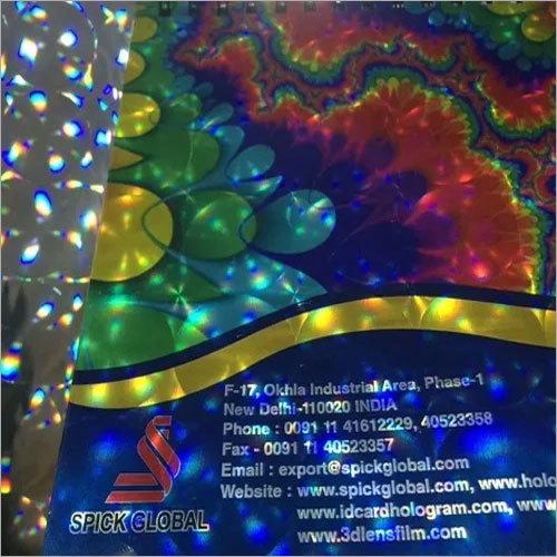 Metallized 3d Multi Lens Film