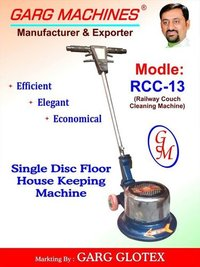Single Disc Floor Cleaning Machines