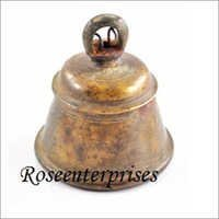 Brass temple bell indian