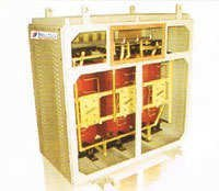 Dry Type Transformer with Off Circuit Tap Links