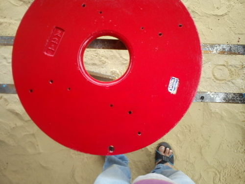 Painted Grinding Emery Stone