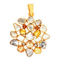 Gold Diamond Pendant Jewelry