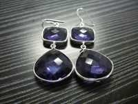 Bezel Earrings
