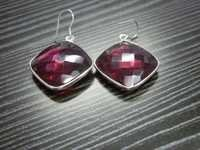 Red Quartz Earrings