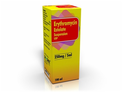 ERYTHROMYCIN ESTOLATE SUSPENSION