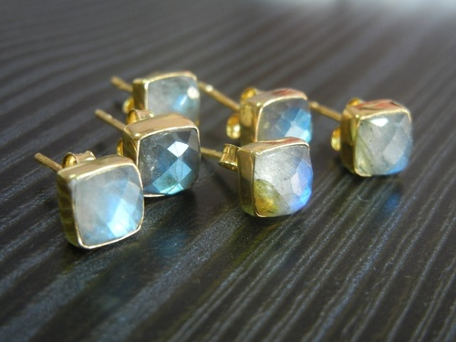 Gemstone Fancy Studs Earring
