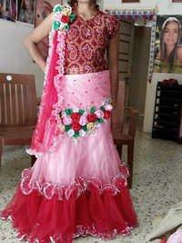 Embroidered Lehenga