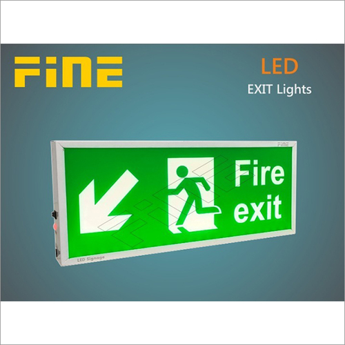 Back Lite - Fire Exit with Man
