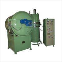 High Vacuum Metallising Plant