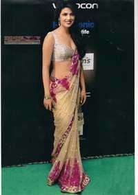 Priyanka Chopra Replica Saree