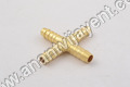 Brass Cross Joint Nipples
