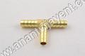 Brass Hose T Joints