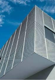 Expanded Metal Building`s Facades