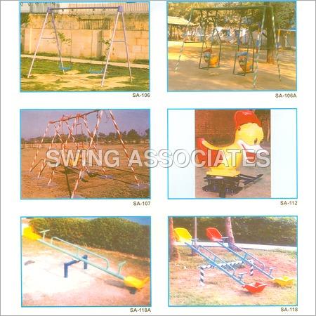 Playground Slides & Swing