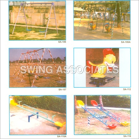Playground Slides & Swing