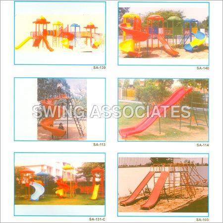 Childrens Slides & Swing Sets