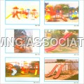 Childrens Slides & Swing Sets