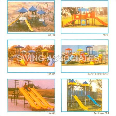 Garden Slides & Swing Sets