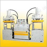 Twin Station Down Stroke Compression Moulding Machine