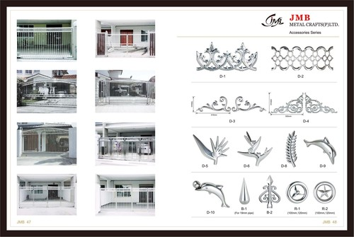 Stainless Steel Gates Accessories