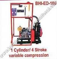 1 Cylinder 4 Stroke Variable Compression