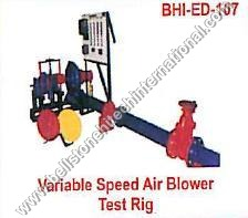 Variable Speed Air Blower Test Rig