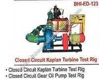 Closed Circuit Kaplan Turbine Test Rig