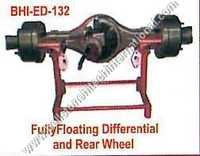 Fullyfloating Diffrential and Rear Wheel