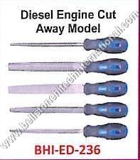 Diesel Engine Cut Away Model